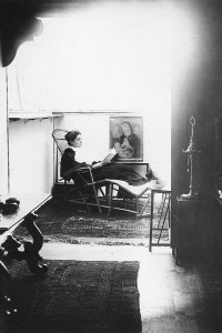 Eleonora Duse nel suo appartamento a Venezia. Ottobre, 1894
