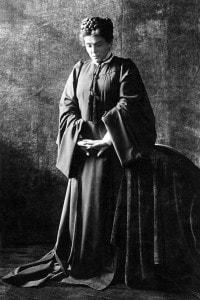 "Eleonora Duse interpreta Rebecca in ""Rosmersholm"" di Henrik Ibsen. Italia, 1906"