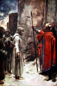 Enrico IV alle porte di Canossa