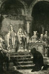 Enrico IV e l'umiliazione di Canossa