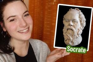Benedetta Santini ci spiega Socrate e la maieutica
