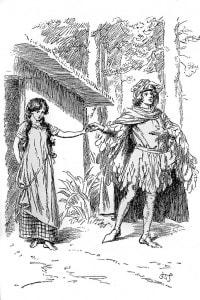 Il marchese Gualteri presenta la sua sposa Griselda al popolo di Saluzzo
