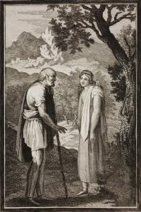 Il pastore Artandro incontra sua figlia Griselda