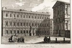 Palazzo Marino a Milano: qui nacque Marianna de Leyva