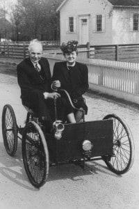 Henry Ford e sua moglie Clara Jane Bryant, 15 agosto 1946