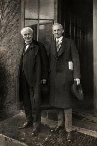 Thomas Edison e Henry Ford