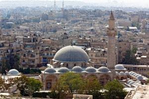 La moschea di Aleppo, Siria