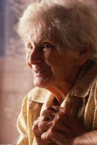 Emilie Schindler, nata Pelzl, moglie di Oskar Schindler. Argentina, 1990 circa
