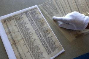 Lista di Schindler esposta nello Yad Vashem a Gerusalemme
