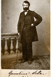 Quintino Sella: Ministro delle Finanze del Regno d'Italia (1862)
