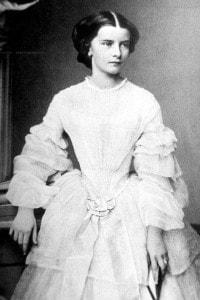 Ritratto da ragazza dell'Imperatrice d'Austria Elisabetta