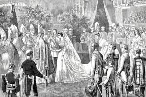 Matrimonio dell'imperatore Francesco Giuseppe I e dell'imperatrice Elisabetta d'Austria, 24 aprile 1854