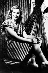 Eva Peròn a Buenos Aires negli anni'40