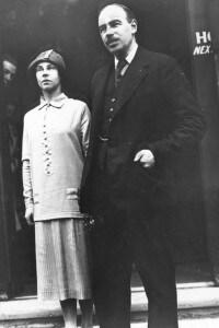 1925: il matrimonio di John Maynard Keynes e della ballerina russa Lydia Lopokova
