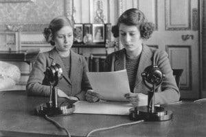 10 ottobre 1940: l'annuncio radiofonico delle principesse Elisabetta e Margaret ai figli dell'Impero durante la seconda guerra mondiale