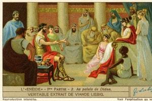Enea nel palazzo di Didone