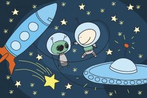 Tema di fantascienza: come raccontare l'incontro fra un umano e un alieno