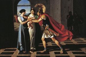 Ettore e Andromaca: riassunto e commento