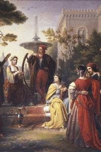 Immagine del Decameron di Boccaccio