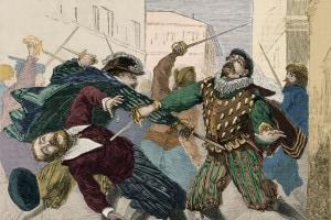 Lo scontro tra Lodovico e il nobile prepotente