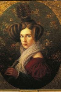 Ritratto di Margherita Barezzi (1814-1840), la prima moglie di Giuseppe Verdi