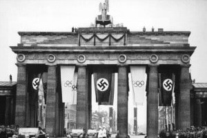 Le Olimpiadi di Berlino del 1936 si svolsero sotto il Nazismo