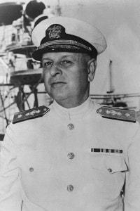 L'ammiraglio Husband Kimmel, il comandante della Flotta del Pacifico al momento dell'attacco di Pearl Harbor