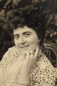 Elvira Bonturi (Lucca, 1860-Milano, 1930), moglie di Giacomo Puccini. Villa Puccini, Torre del Lago