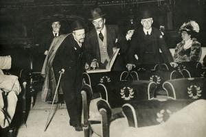 Giacomo Puccini e l'opera La fanciulla del West, 1910
