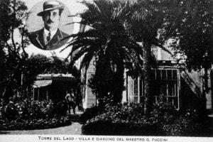 La villa di Giacomo Puccini a Torre del Lago