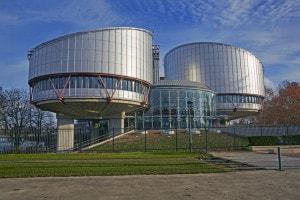 Corte europea dei diritti dell'uomo a Strasburgo