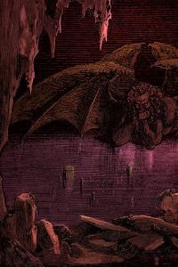 Il canto 34 dell'Inferno di Dante illustrato da Gustave Doré