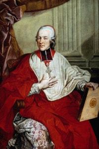 Ritratto di Hieronymus von Colloredo: arcivescovo di Salisburgo, primo protettore e mecenate di Mozart