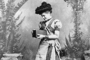Ritratto fotografico del 1895
