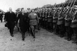 Il cancelliere tedesco Friedrich Ebert, 1918