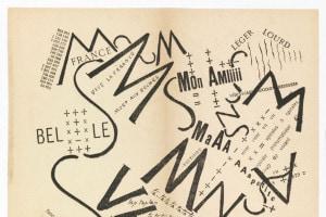 Parole Consonanti Vocali Numeri In Libertà, Filippo Tommaso Marinetti