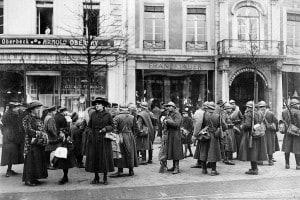 Trattato di Versailles - occupazione della Renania, 1918