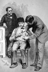 Pasteur a Parigi e il suo vaccino contro la rabbia