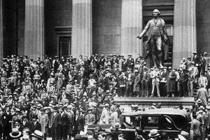 Finanza nella storia: la caduta di Wall Street del 1929