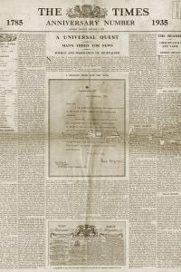 The Times, 1 gennaio 1935