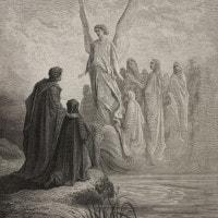 Canto II del Purgatorio di Dante: testo, parafrasi, commento e figure retoriche
