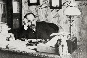 Luigi Pirandello, autore de La signora Frola e il signor Ponza