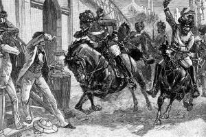 Moti indiani del 1857. I Sepoy si ribellano a Delhi