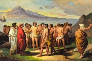 Dante, Virgilio, le anime e il canto di Casella