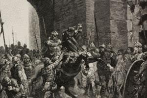 Alboino entra a Pavia
