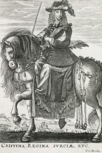 Cristina di Svezia a cavallo