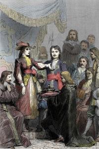 Incoronazione di Cristina regina di Svezia, 1650