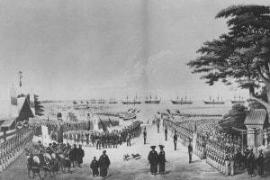 Lo sbarco di Matthew Perry in Giappone, 8 marzo 1854