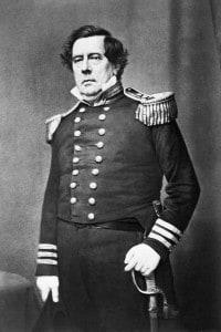 """L'ammiraglio Matthew Perry (1794-1858), l'uomo che """"ha aperto il Giappone"""""""