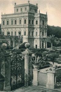 Villa Doria Pamphili al Gianicolo, Roma. Villa del XVII secolo situata all'interno di un ampio giardino pubblico